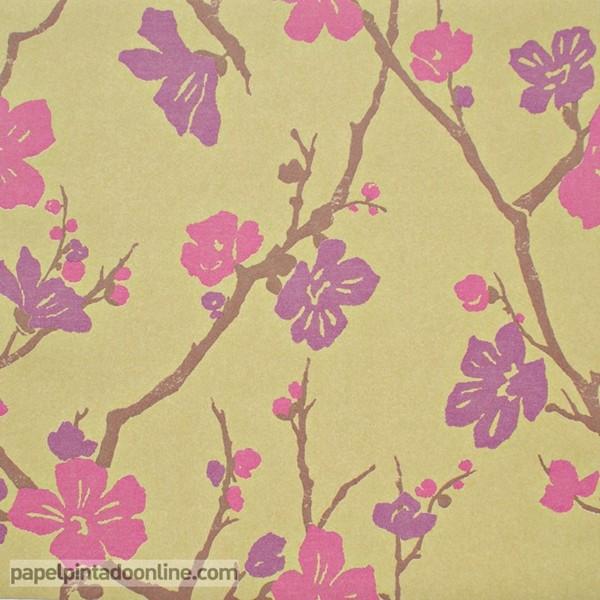 papel pintado moss